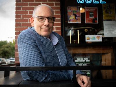 Portrait of David Leavitt