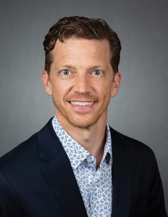 Portrait of Stephen Luke Flory